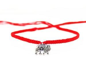 NauticalWheeler — Friendship Bracelet with Silver ElephantFriendship Bracelet with Silver Elephant