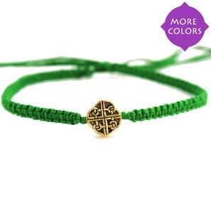 NauticalWheeler — Friendship Bracelet with Celtic Knot in GoldFriendship Bracelet with Celtic Knot in Gold