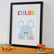 Image of 'Mouse' Personalised Print