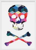 Image of cubic skull one - A3