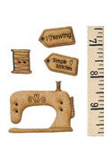 Image of The Sewing Book button and tape pack