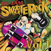 "Image of V/A ""DC-Jam Skate Rock Vol. 1"" Double CD set"