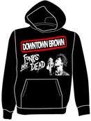 "Image of Downtown Brown ""Funks Not Dead"" Hoodie"