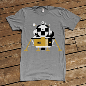 Image of Apollo Lunar Module 1969-1972 T-shirt