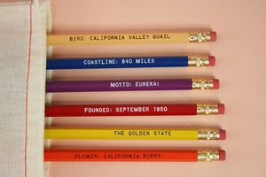 Image of California Pencil Set