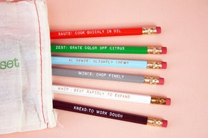 Image of Chef&amp;#x27;s pencil set