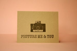 Image of Picture me and you card