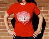 Image of Copse/Red T-Shirt (UNISEX)