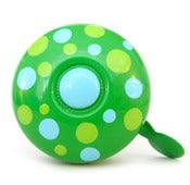 Image of picots sur vert - polka dots on green