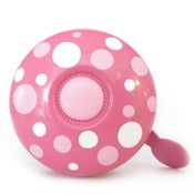 Image of picots sur rose - polka dots on pink