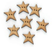Image of Wonky Star button pack