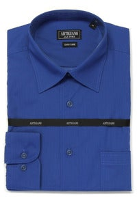 Image of ARTIGIANO CR706 ROYAL BLUE SHIRT