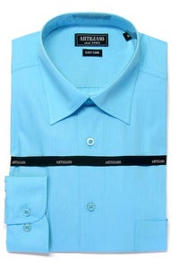 Image of ARTIGIANO CR706 AQUA SHIRT