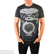 Image of Globe  Tri-Blend Black