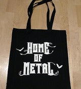 Image of Home Of Metal tote bag