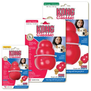 Image of KONG Classic Dog Toys in the category  on Uncommon Paws.