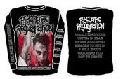 "Image of ""Annihilation into extinction"" longsleeve shirt"