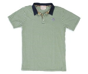 Image of Green Stripe De La Soul Polo