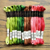 Image of Cosmo Embroidery Floss Palette : Berry Patch