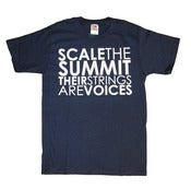 "Image of Navy Blue ""Their Strings Are Voices"" ™ T-Shirt"