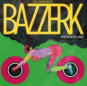 Image of NEW!! BAZZERK African Digital Dance	 (2xCD)