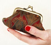 Image of Art Nouveau Kitty mini purse