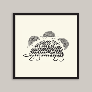 Image of Persian Tortoise (cream) – 20x20cm
