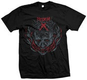 Image of Abandon All T-shirt Red Print