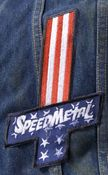 Image of SpeedMetal cross patch