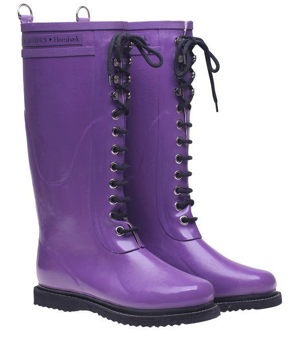 Image of Ilse Jacobsen Rubber Boots - Tall, Purple
