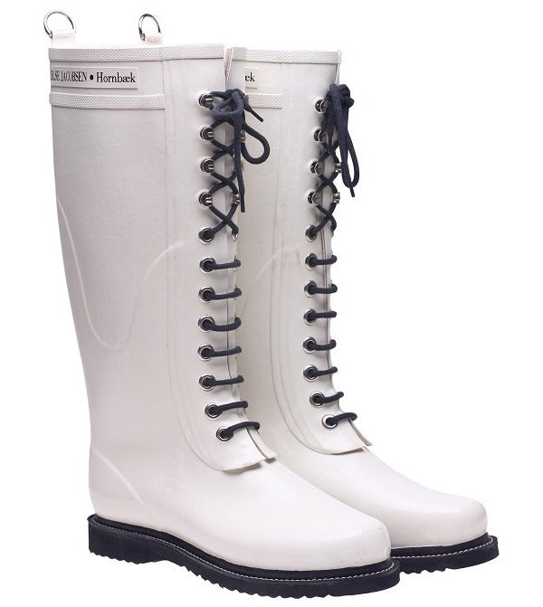 Image of Ilse Jacobsen Rubber Boots - Tall, White