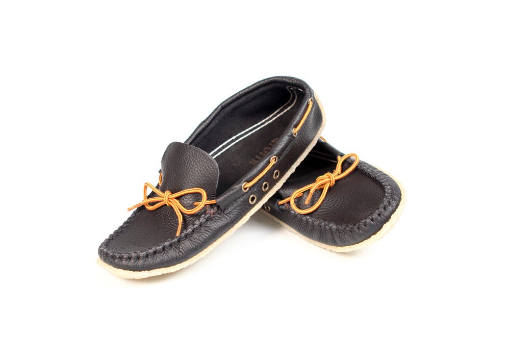 Image of // LOWTOP MOCCASINS BLACK