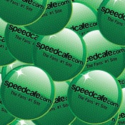 Image of 10 Pack of speedcafe.com circle stickers