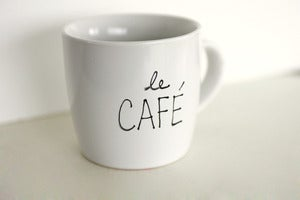 Image of Le Caf Mug