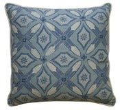 "Image of Graham Indigo Single Sided 22"" Pillow"