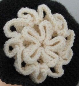 Crochet Pattern: Yoyo-Puff Wide Brim Hat For Girl | Free Pattern