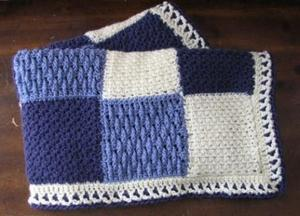 Crocheted Afghans on Etsy - Baby, bed, lap blankets, crocheted ...