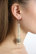 Image of Snake Skin Ball Single Earring