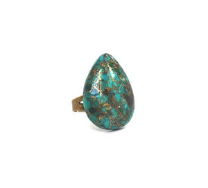 Image of Turquoise Stone Ring