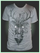 Image of Moth Eaten Deer Head - Shirt