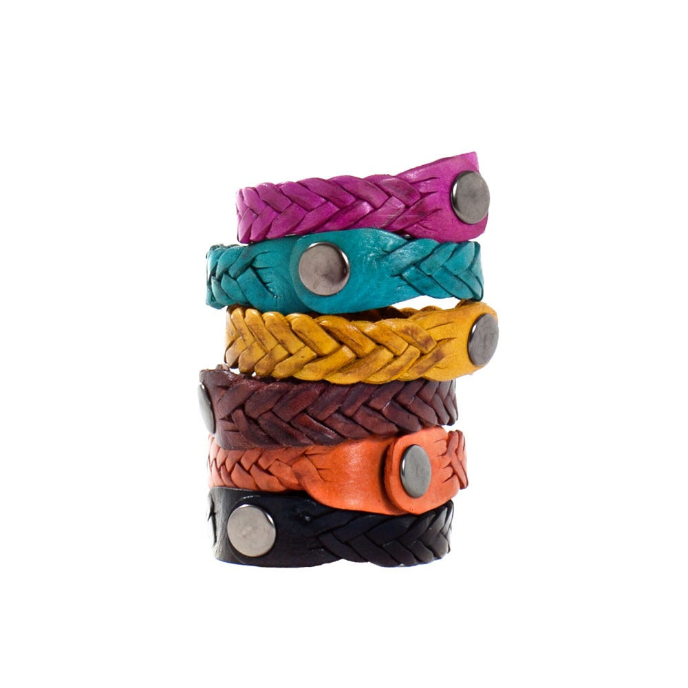 How To Make Leather Bracelets (Jewellery Making)