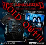 Image of The Unguided - Betrayer package [Unisex T-shirt + signed poster and mp3] 