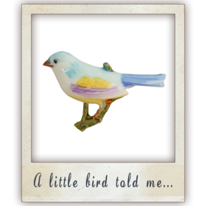 Image of A Little Bird Told Me Brooch