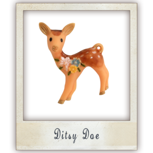 Image of Ditsy Doe Brooch