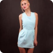 Image of Cyan Dress