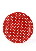 Image of Red Dots Party Plates