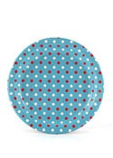 Image of Multi Blue & Red Dots Party Plates