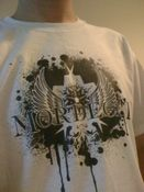 Image of Mordecai logo t-shirt