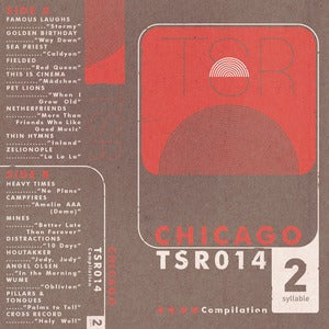 Image of Twosyllable Records Chicago Compilation [PRE-ORDER]