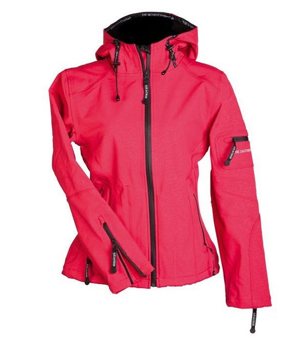 Image of Ilse Jacobsen Rain Jacket - Rose
